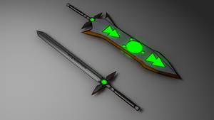 Trick Weapon: The Argonaut by Accel-Phoenix