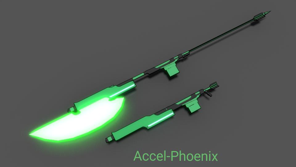Trick Weapon: Green Jay by Accel-Phoenix