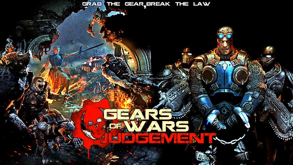 Gears Of War Judgement Wallpaper Effect By Kunggy1