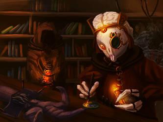 Dustborn Scientist by Uriak