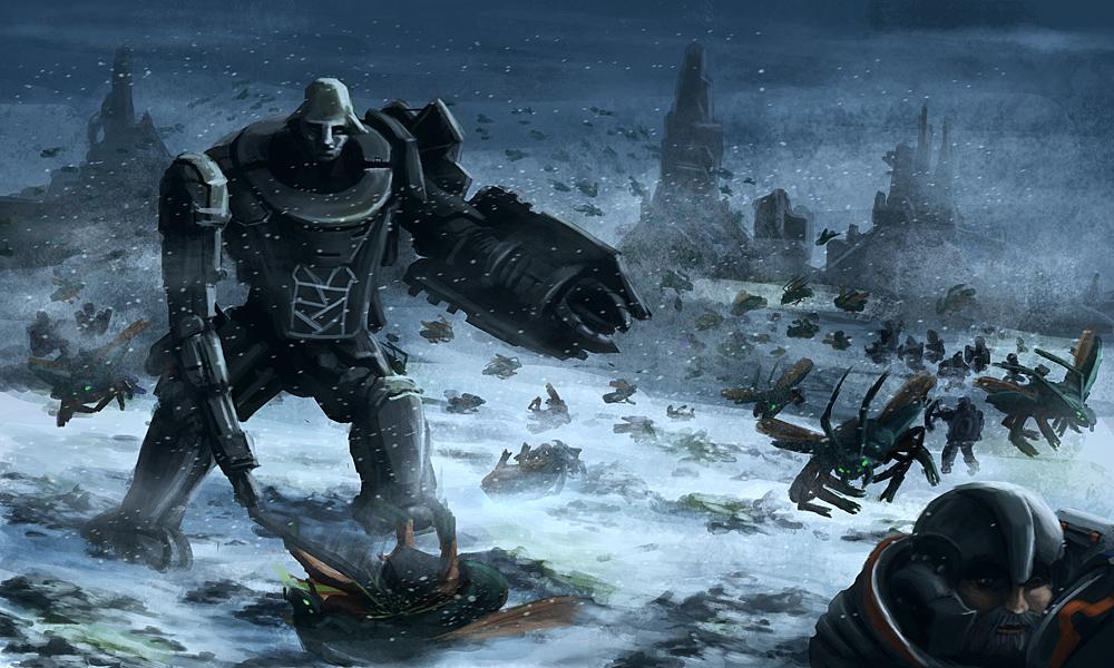 Winter at the Gates by Uriak