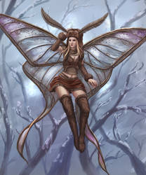 Winter fairy by Uriak