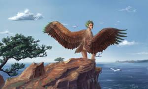 Rinloh takes flight