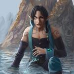 The wizard of Kvarner Bay by Uriak