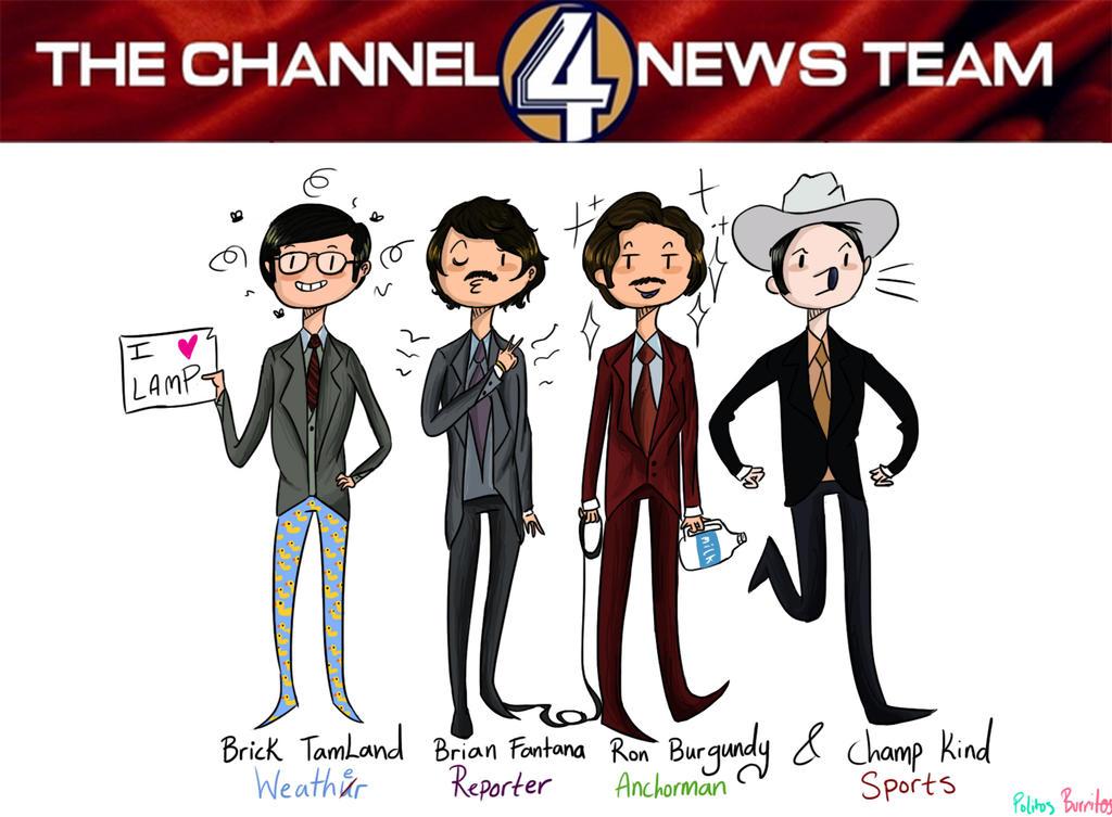 The Channel 4 News Team by PolitosBurritos on deviantART