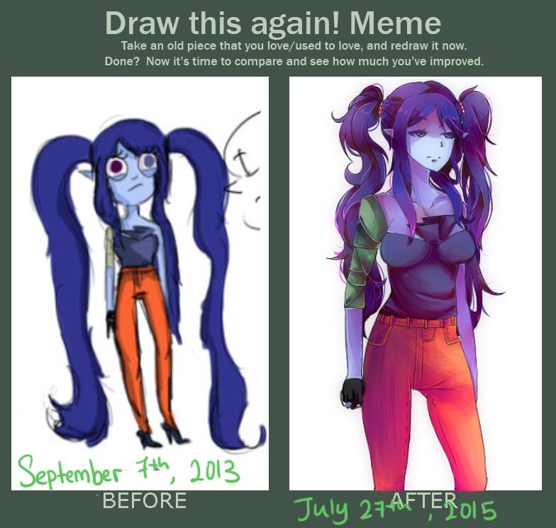 Draw it Again Meme by PolitosBurritos