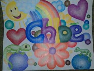 Chloe's name by CrazieCathie