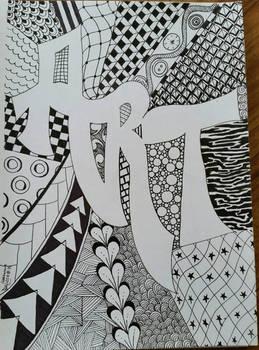 Art Zentangle