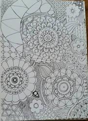 Zentangle 2 by CrazieCathie