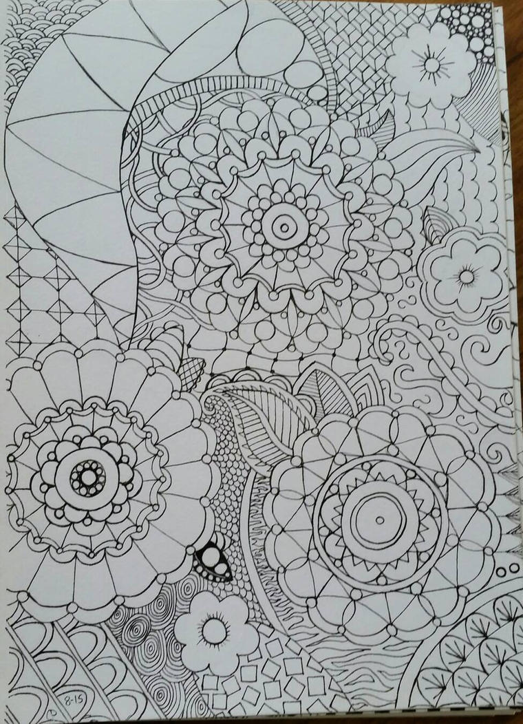 Zentangle 2 by CrazieCathie