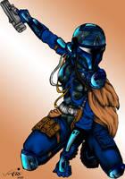 Trig: Mando Armor - Color by Riaqua