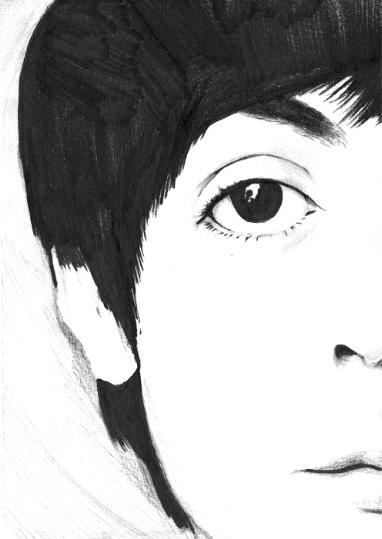 Paul McCartney sketch by Deadbeat-Rhapsody