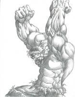 The Incredible Hulk by Kevman87