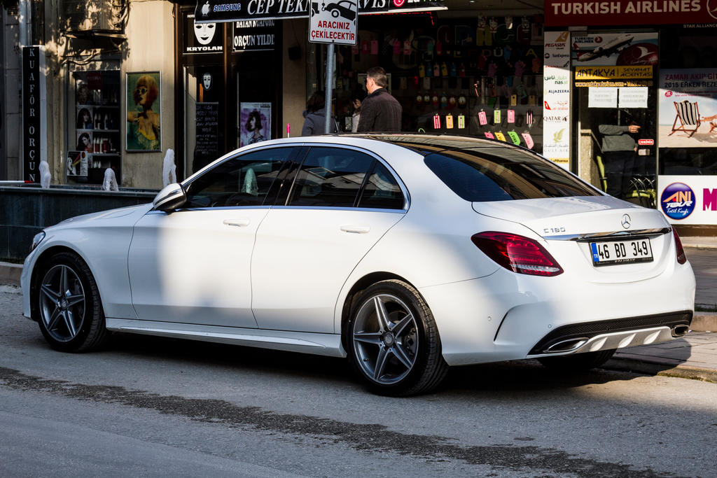 Mercedes benz c 180 amg pack w 205 by erdemdeniz on for Mercedes benz c class service b