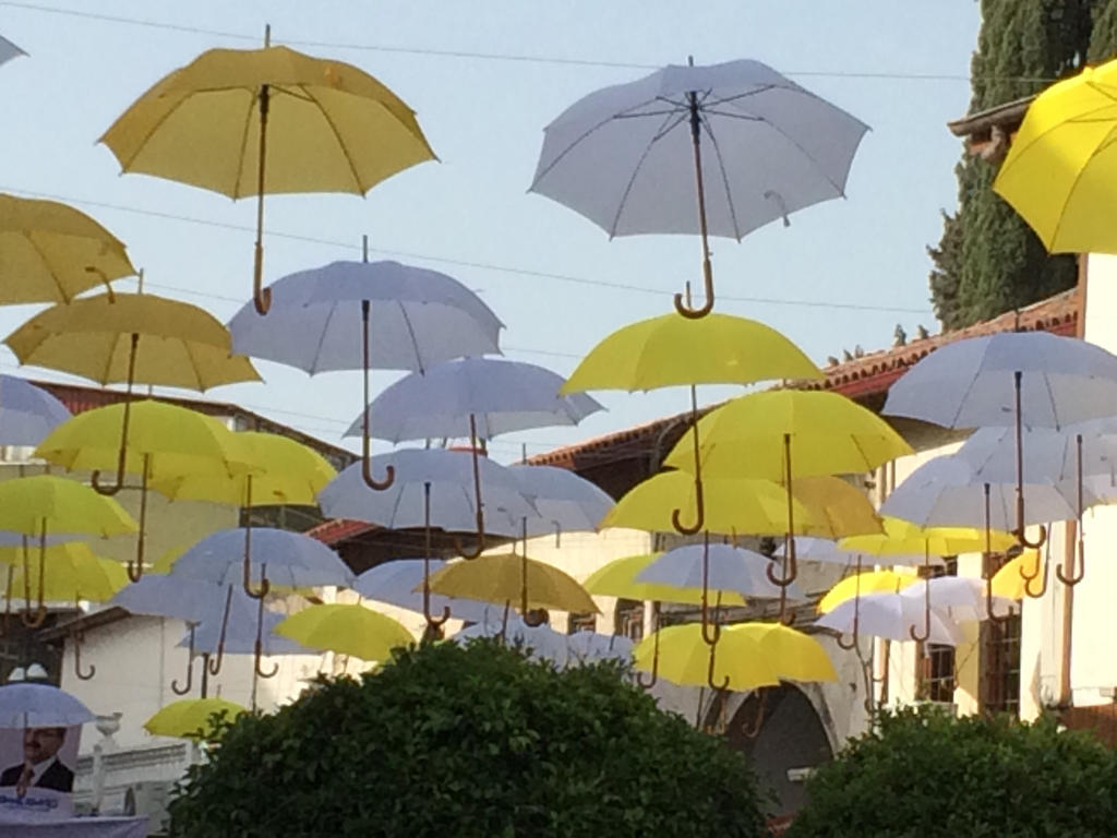 Flying Umbrellas by ErdemDeniz