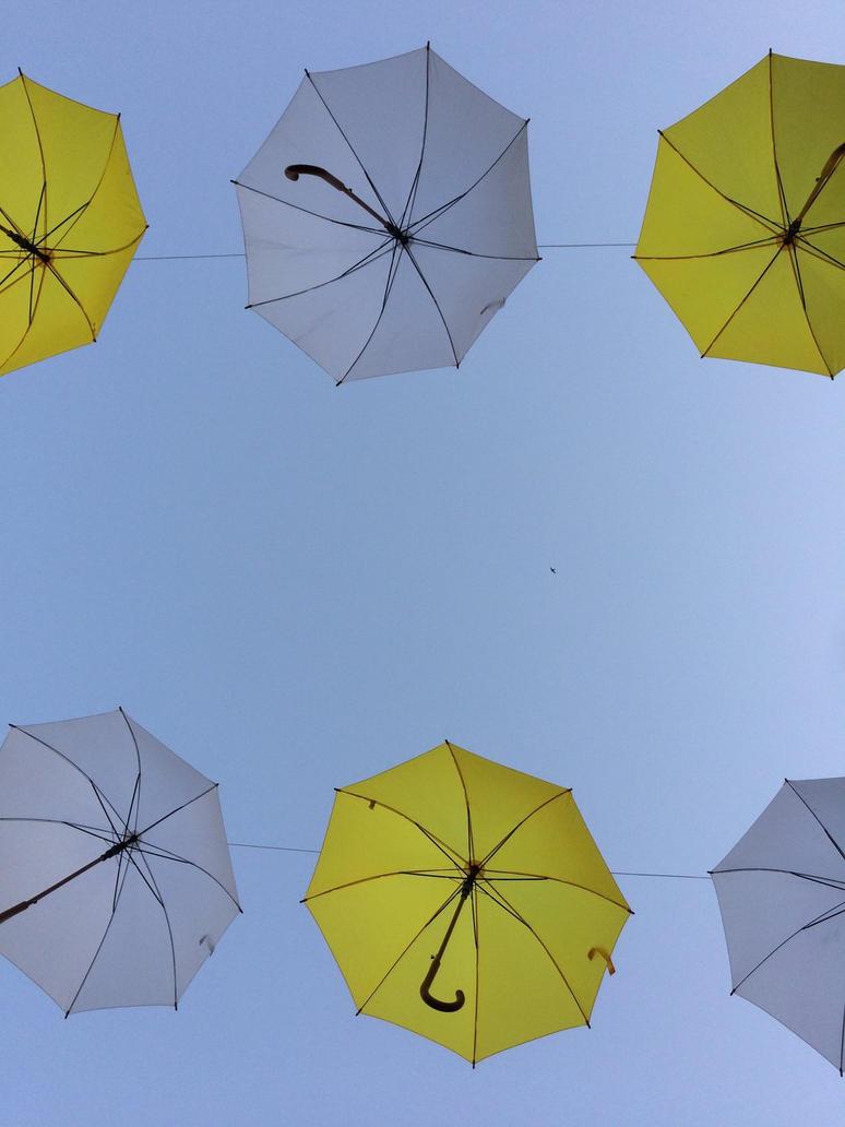 Flying Umbrellas 2  by ErdemDeniz
