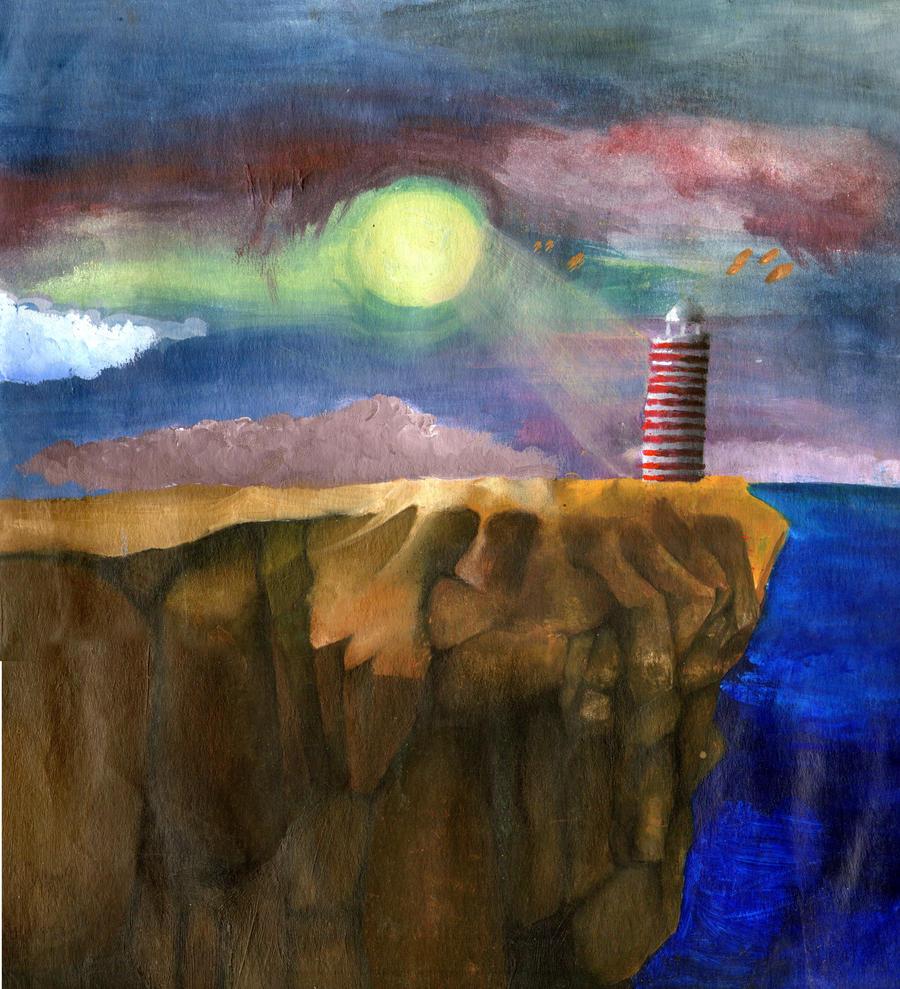 Le phare du bout du monde by mnep on deviantart - Du bout du monde decoration ...