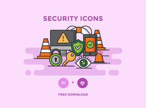 Free Security Icons Vector Graphics