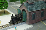 N Scale Little Red Engine House