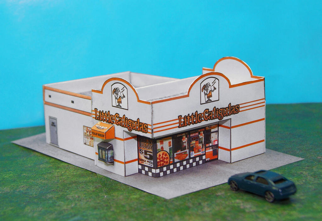 Little Caligulas Pizza Palace! In N Scale