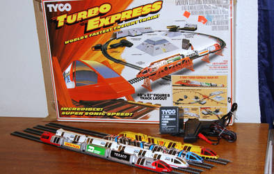 My Tyco Turbo Train Complete Collection