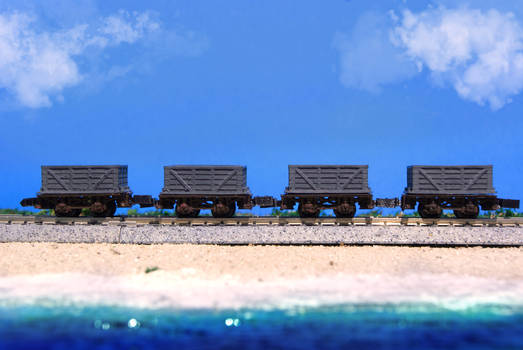 N Scale Obligatory Anime Beach Episode