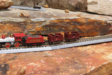 N Scale OERM Pie Yard Ride Cars