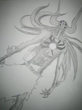 Hollow Ichigo sketch