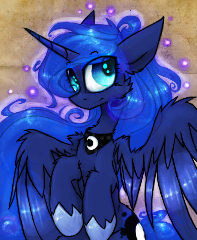 Fluffy Luna by Terror--Bite