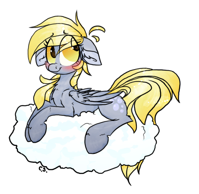 Herpy Derpy by the--Cloudsmasher