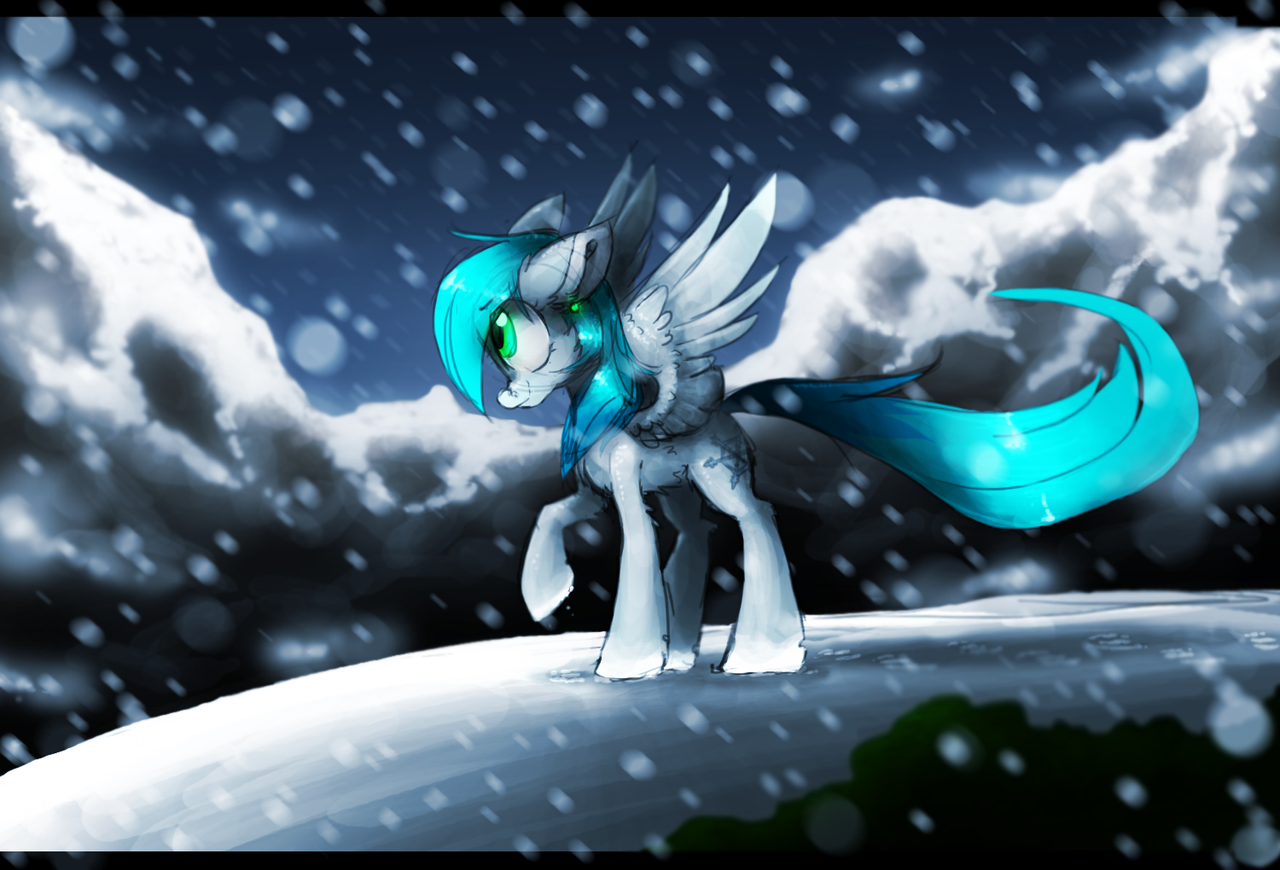 Snowy by the--Cloudsmasher