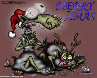 Merry Xmas by ApocalypseCartoons