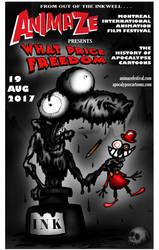 WPF at ANIMAZE Montreal Animation Festival by ApocalypseCartoons