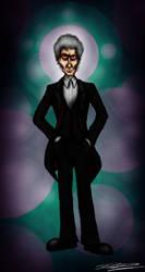The Twelfth Doctor: Peter Capaldi by ApocalypseCartoons