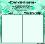Comparison Meme Template