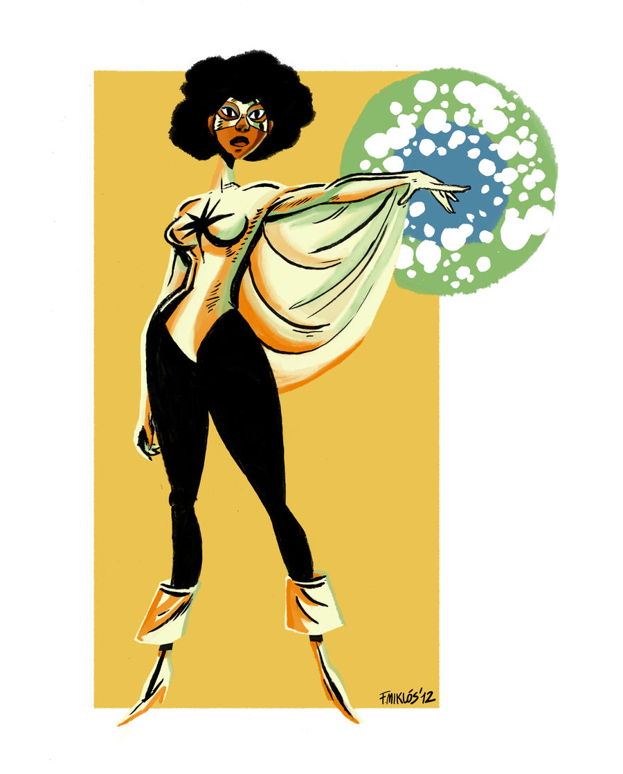 OHOTMU - Monica Rambeau / Captain Marvel by nonamefox