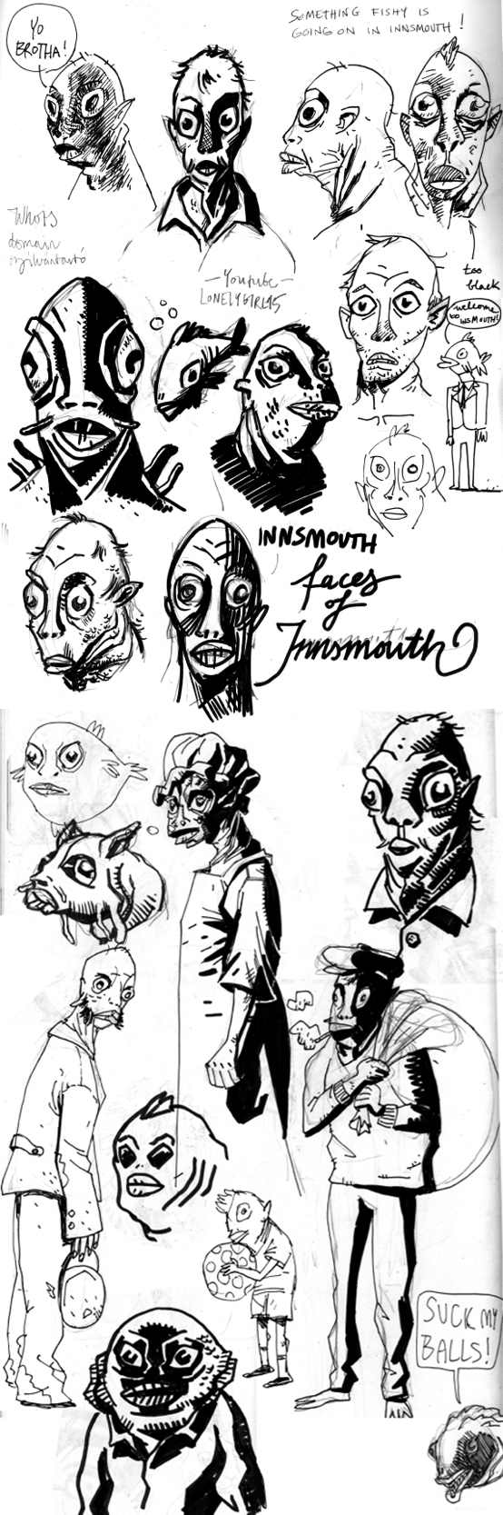 Shadow Over Innsmouth by nonamefox