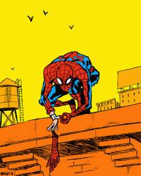 Spider-man by nonamefox