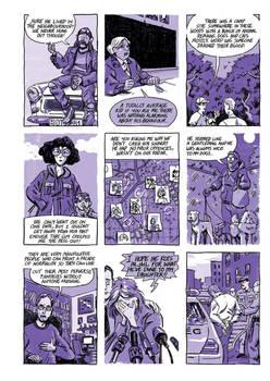 9 panel crime comic