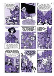 9 panel crime comic by nonamefox