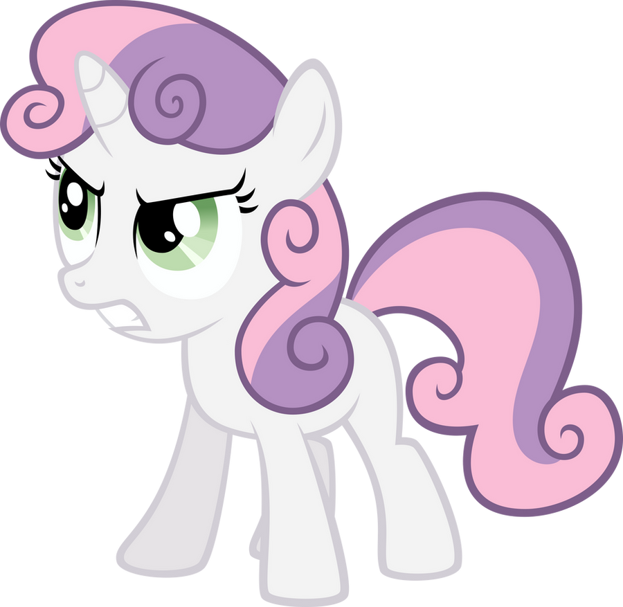 Angry Sweetie Belle by qazwsx302