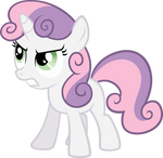 Angry Sweetie Belle