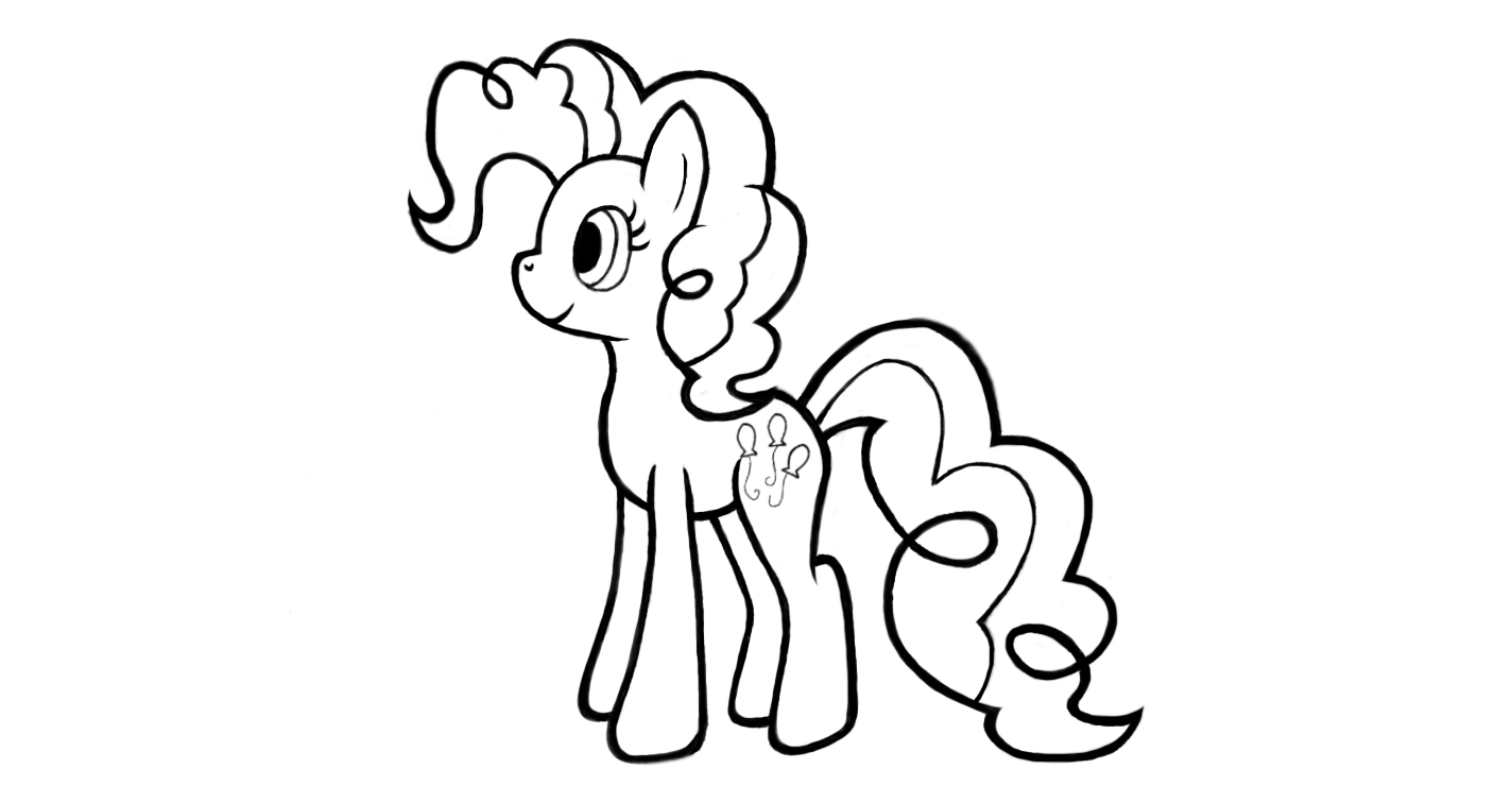 15 for Pinkie pie coloring page