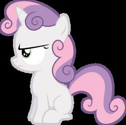 Sweetie Belle is not Amused