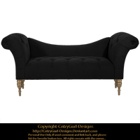 Black Chaise 01 by CntryGurl-Designs
