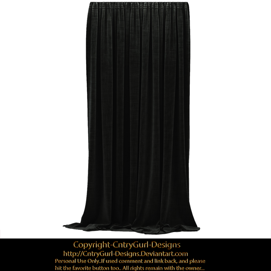 Black Drapes 01 by CntryGurl-Designs on DeviantArt for Black Drapes Png  56mzq
