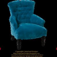 Blue Chair 01 by CntryGurl-Designs