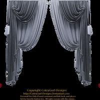 Blue Drapes 01 by CntryGurl-Designs