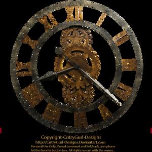 Steampunk Clock 03