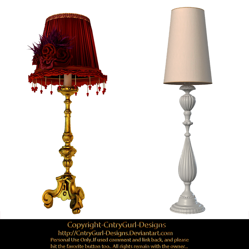 Table Lamps 01 by CntryGurl-Designs